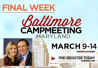Baltimore Campmeeting Extended 4th Week and Final Week
