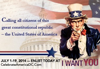 Your Nation Needs You this July in DC