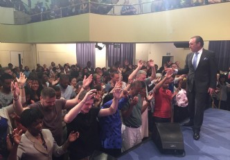 HOLY GHOST MEETING LONDON UK ONE NIGHT ONLY