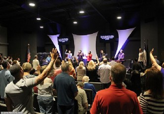 Holy Ghost Revival at The River in Midland, day 3