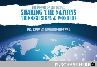 THE POWER OF THE GOSPEL SHAKING THE NATIONS THROUGH SIGNS AND WONDERS