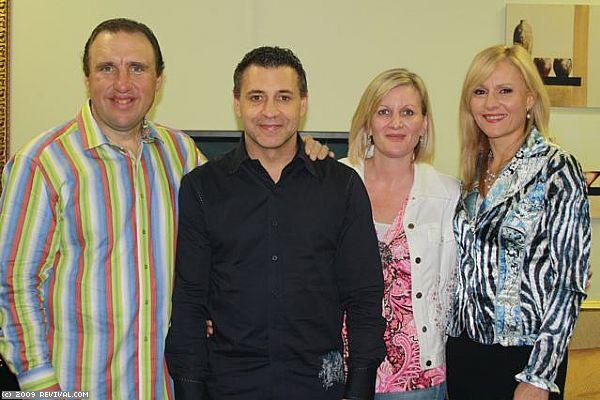 Durban Sunday PM - Pastor's John and Joy Torrance. (Large)